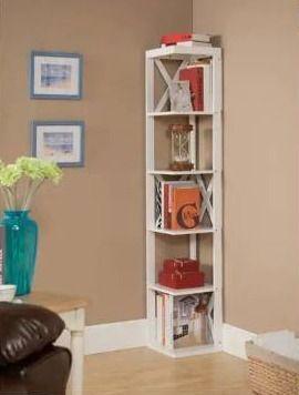 Copper Grove Foxtail Corner Bookcase  Retail 124 99