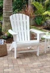 Trex Outdoor Furniture Yacht Club Curveback Adirondack Chair