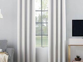 Set of 2 Sun Zero Oslo Home Theater 100  Blackout Grommet Curtain Panel