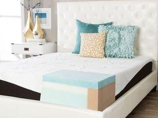 ComforPedic from Beautyrest Choose Your Comfort 10 inch Gel Memory Foam Mattress  Retail 811 49