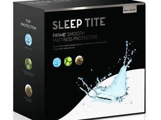 Sleep Tite PR1ME Smooth Fitted Mattress Protector  King