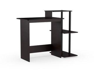 Porch   Den Baruch Efficient 3 shelf Home laptop Computer Desk