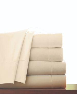Pointehaven T 800 Pima Cotton Deep Pocket luxury Queen Sheet Set  Bone
