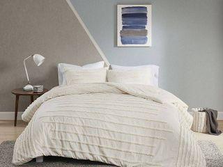 Urban Habitat Camden Cotton Chenille Duvet Cover Set  Retail 122 49