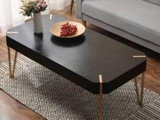 Carson Carrington Tammsberg Wood and Metal Coffee Table  Retail 185 49