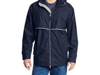 Charles River Men s Englander Rain Jacket Navy Grey