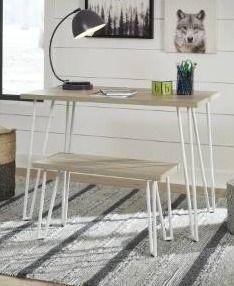 Blariden Desk with Bench  Retail 145 49