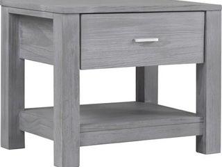Grain Wood Furniture loft Solid Wood 1 drawer Nightstand  Retail 183 99
