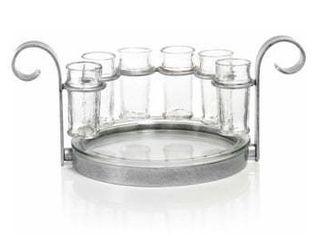 Zodax Cabo 7 Piece Shot Glass Set  Size One Size   Metallic