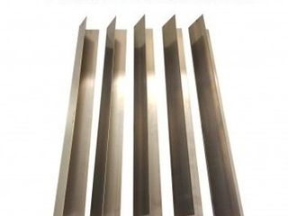 5PK long lasting Stainless Steel Flavorizer Bars fits Weber Grills  Part   7537  22 5 x 2 25 x 2 375