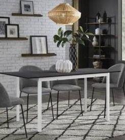 Carson Carrington Salgutsred Modern Extendable Dining Table