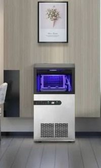 Ainfox Freestanding Ice Maker Machine with lCD Screen large Capacity 66lbs Ice  Retail 356 99