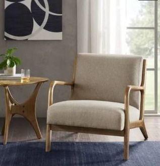 Novak lounge Chair Cream  Accent Chairs