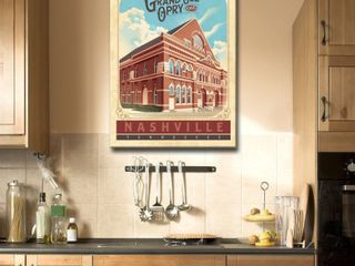 Ready2HangArt Poster Inspired Grand Ole  Opry Canvas Retail   42 99