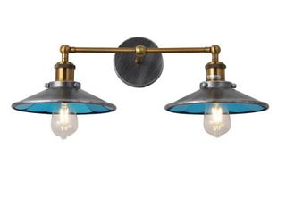 2 light Bathroom Vanity Sconce lighting Rustic Industrial Farmhouse  Retail 83 49