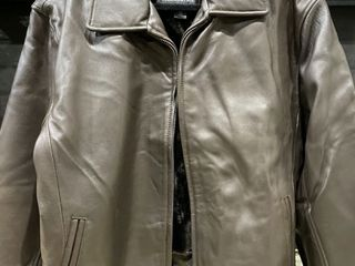Tanners Avenue Men s Modern Brown lambskin leather Jacket Retail 298 99