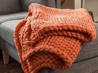 Your lifestyle by Donna Sharp Chunky Knit Throw Retail 116 99