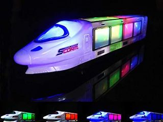 FUGZ Train Toys  Beautiful 3D lightning Electric Train  Creative Gifts for 3 8 Year Old Boys Girls Gifts