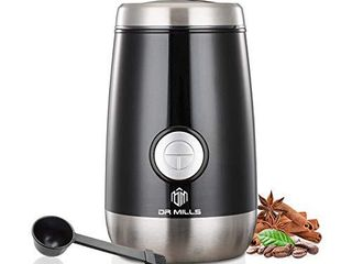 DR MIllS DM 7445 Electric Dried Spice and Coffee Grinder  Blade   cup made with SUS304 stianlees steel