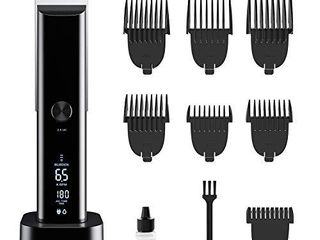 WONER Pro Hair Clippers for Men  Clippers for Hair Cutting  Rechargeable Cordless Hair Trimmers with Charging Stand  Hair Cutting Kits for Family