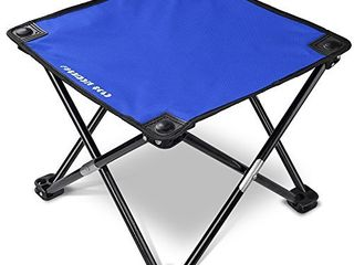 Forbidden Road Camping Stool Seat Tripod Stool Portable Folding Hiking Fishing Travel Backpacking Outdoor Stool 0 9lbs lightweight Capacity 220lbs   Red Blue Green  Blue  13 7713 7711 8