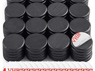 DIYMAG Ceramic Disc Magnets 200 Packs with Double Sided Adhesive  Ceramic Industrial Magnets  Perfect for Fridge  DIY  Building  Scientific  Craft  and Office Magnets