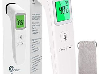 Non Contact Thermometer for Adults and Kid No Touch Infrared Forehead Thermometer for Fever  Smart Temperature Gun Reading Detection on Forehead