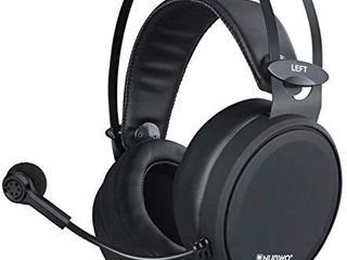 NUBWO Gaming headsets PS4 N7 Stereo Xbox one Headset Wired PC Gaming Headphones with Noise Canceling Mic   Over Ear Gaming Headphones for PC MAC PS4 PS5 Switch Xbox one