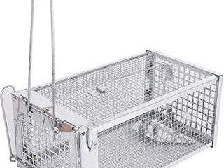 AllRoad live Animal Humane Trap Catch Trap Catch Chipmunks  Rats Small Traps Mouse Catch for Indoor and Outdoor