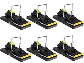 Mouse Traps Indoor Mouse Trap Mice Traps for House Mouse Traps No See Kill 6 Pack