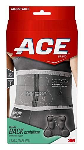 ACE Deluxe Back Stabilizer  with lumbar Support  Back Brace