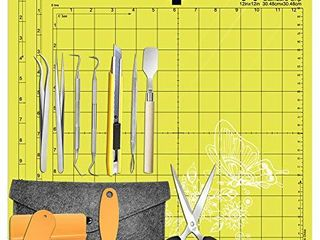 HIRAlIY Weeding Tools for Vinyl Weeding Kits Plus StandardGrip Cutting mat 12x12  3 Pack Compatible with Cricut  Silhouette Accessories