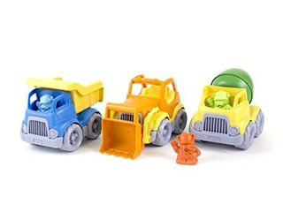 Green Toys Construction Vehicle  3 Pack