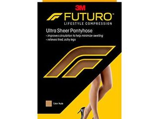 Futuro Pantyhose for Women  Mild Compression  8 15 mm Hg  Helps Improve Circulation to Help Minmize Swelling