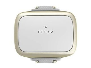 PETBIZ G1 US GPS Pet Tracker  Real Time Dog locator   Activity Monitor  30 Days Ultra long lasting Battery lightweight Waterproof Dog Finder  White