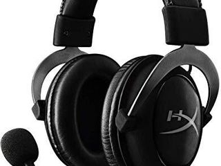 HyperX Cloud II   Gaming Headset  7 1 Surround Sound  Memory Foam Ear Pads  Durable Aluminum Frame  Detachable Microphone  Works with PC  PS4  Xbox One