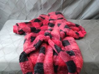 Fitwarm Thermal Turtleneck Dog Winter Coats Thick Velvet Pet Cold Weather Clothes Puppy Jackets Red XXl