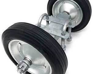 8  Rolling GATE Carrier Wheels  for Chain link Fence Rolling Gates   rut Runner