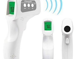 Thermometer for Adults Forehead  Digital Thermometer Olangda No Touch Non Contact Thermometer Forehead Thermometer  Instant Readings  for School and Office