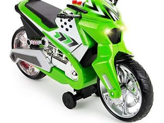Boley Wheelie lifter   1 Pack Green Toy Motorcycle for Boys and Girls   Bike Toy Motorcycles for Toddlers and Kids