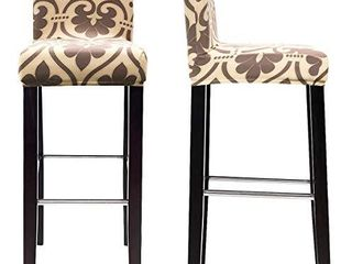 MOCAA Dining Chair Covers Bar Stool Chair Covers  Barstool Slipcovers 2 Pack  Style C