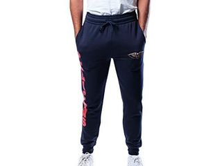 Ultra Game NBA New Orleans Pelicans Mens Basic Soft Terry Jogger Pants  Team Color  XX large