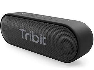 Tribit XSound Go Bluetooth Speaker with 16W loud Sound   Rich Bass  24H Playtime  IPX7 Waterproof  Wireless Stereo Pairing  USB C  Portable Wireless Speaker for Home  Outdoors  Travel  Upgraded