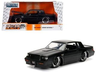 Bigtime Muscle Series  1987 Buick Grand National  Matte Black  1 24 Scale