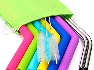 Silicone Straws for 30 oz Tumbler   Reusable Silicone Straws for Yeti Rtic