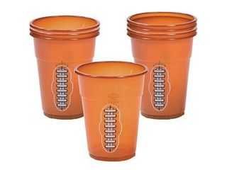 FOOTBAll DISPOSABlE CUPS  50PC    Party Supplies   50 Pieces