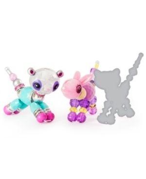 Twisty Petz   3 Pack   Glitzy Panda  Fluffles Bunny and Surprise Collectible Bracelet Set for Kids