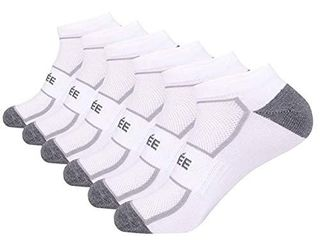 low Cut No Show Athletic Socks Men s Ankle Performance Socks with Mesh Cushion Breathable