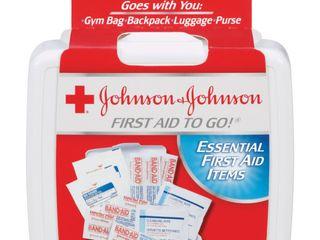 12  JOHNSON   JOHNSON RED CROSS MINI TO GO FAK