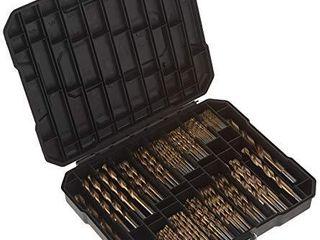 MASTERCRAFT Titanium Coated Drill Bit Set  230 Pc Kit   3 64 up to 1 2 Inch